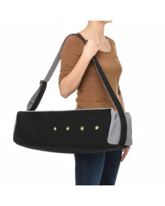 Cubist Yoga Bag - Black / Gray
