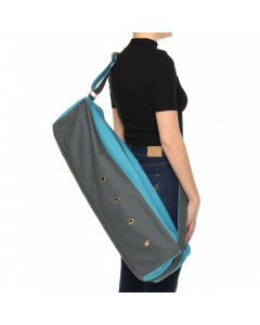 Cubist Yoga Bag - Gray / Blue