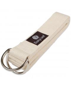 Natural Yoga Strap - Organic