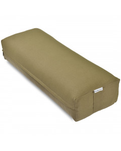 Rectangular Yoga Bolster - Large Green