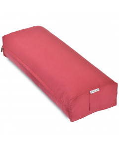 Rectangular Yoga Bolster - Large Red