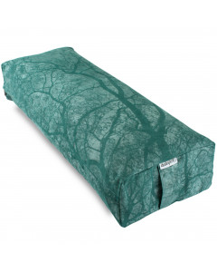 Wholesale Rectangular Yoga Bolster - Green Trees