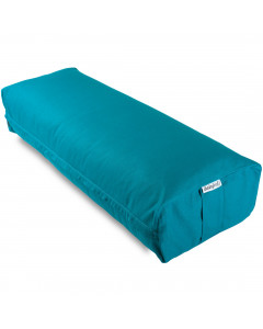 Wholesale Rectangular Yoga Bolster - Teal Blue
