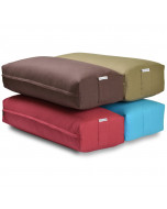 Large Rectangular Yoga Bolster - Red